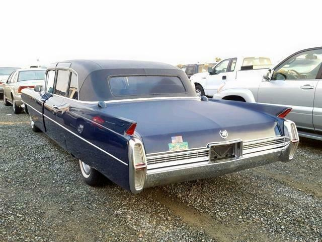 solid 1964 Cadillac Fleetwood limousine