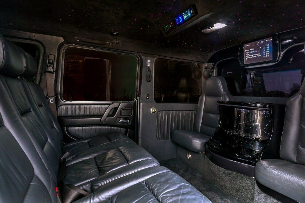 custom 2004 Mercedes Benz G Class G55 AMG limousine