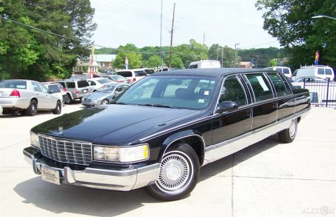 garage kept 1996 Cadillac Fleetwood limousine for sale