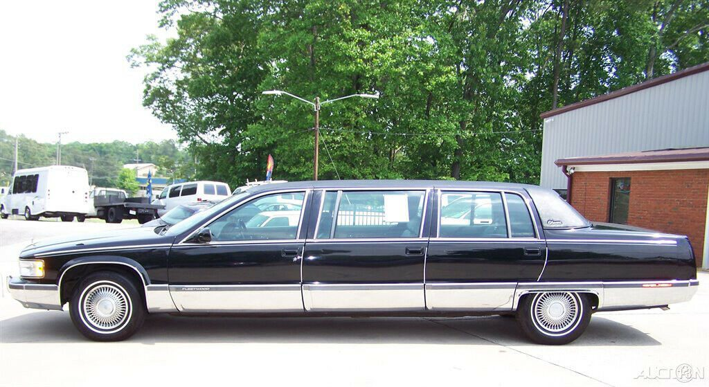 garage kept 1996 Cadillac Fleetwood limousine