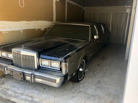 garaged 1987 Lincoln Town Car Limousine for sale