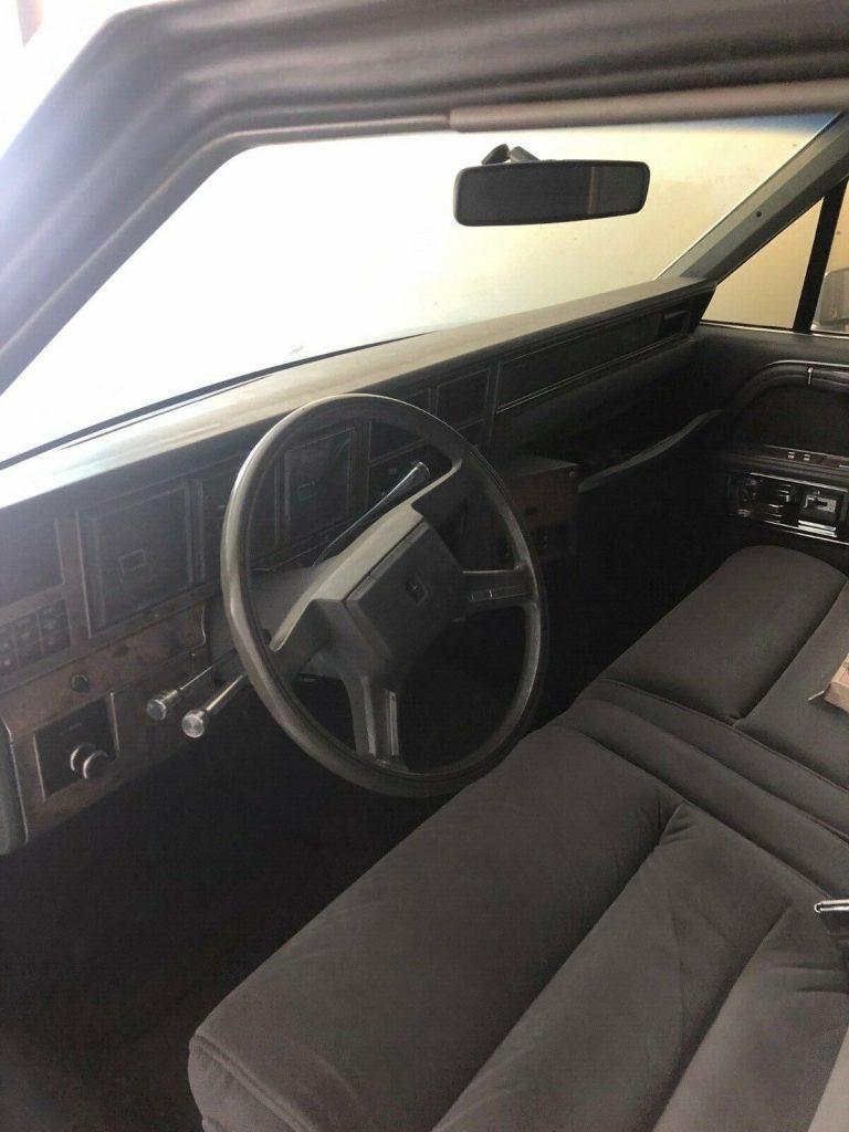 garaged 1987 Lincoln Town Car Limousine