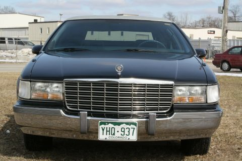 great shape 1993 Cadillac Fleetwood limousine for sale