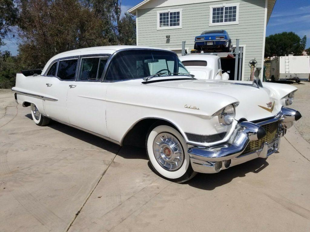 rare 1957 Cadillac Seville Series 75 Factory Limousine