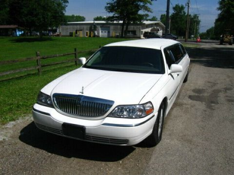 well maintained 2010 Lincoln Town Car limousine for sale