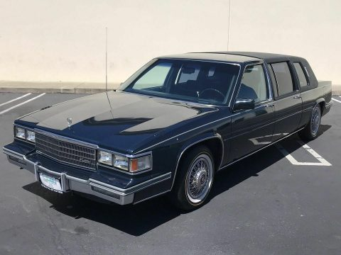 clean 1986 Cadillac Fleetwood Seventy Five Limousine for sale