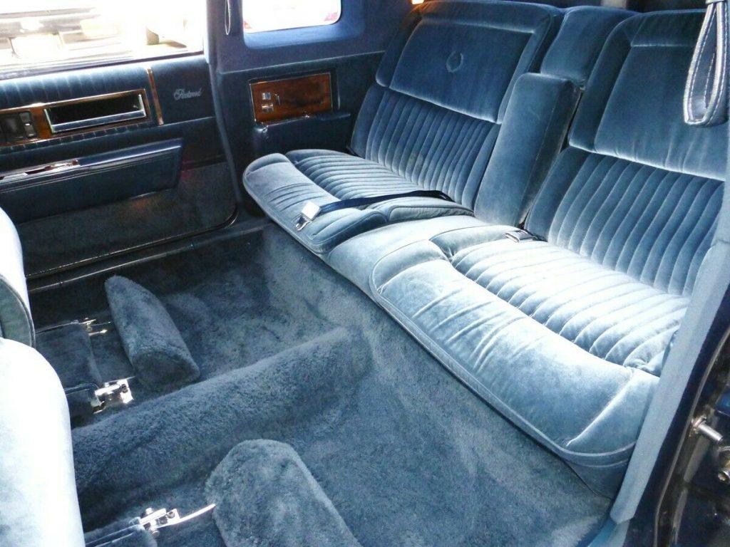 clean 1986 Cadillac Fleetwood Seventy Five Limousine