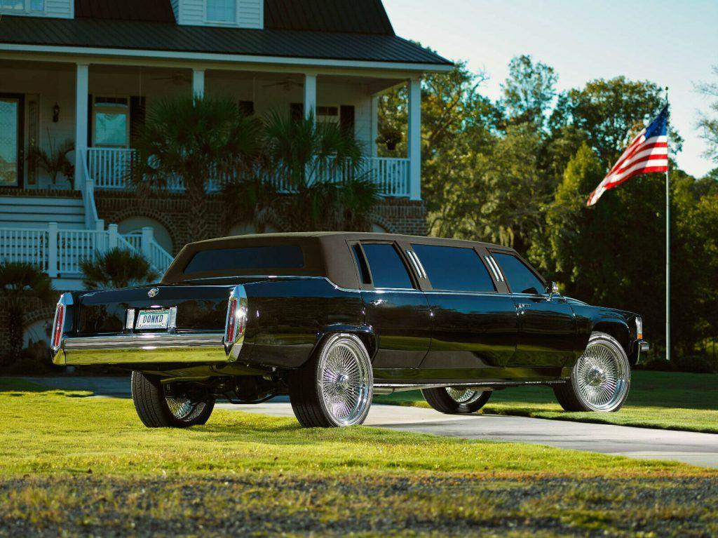 custom 1987 Cadillac Limousine