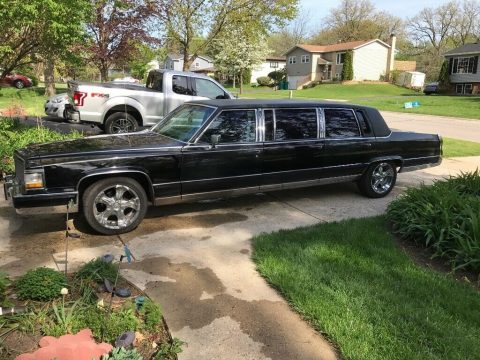 good shape 1991 Cadillac Brougham Chrome limousine for sale
