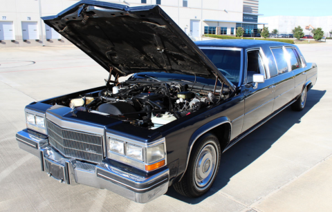 low miles 1984 Cadillac DeVille Limousine for sale