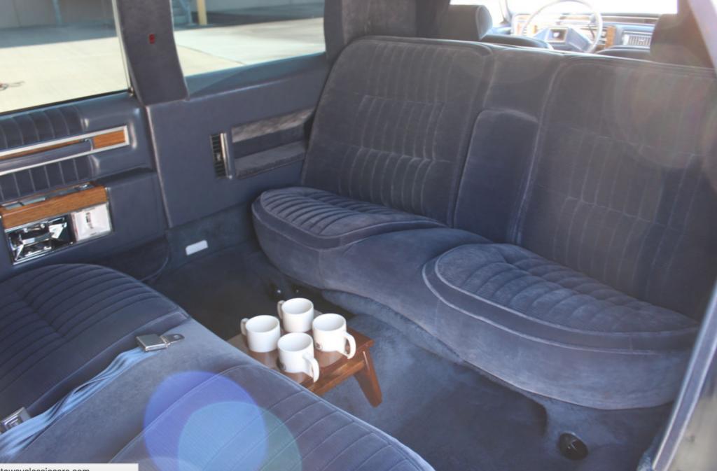 low miles 1984 Cadillac DeVille Limousine