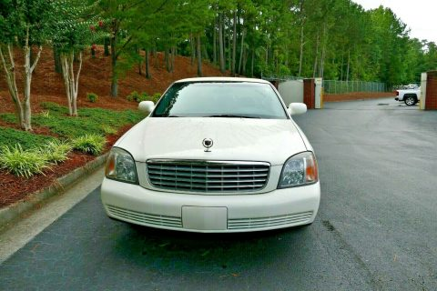needs service 2002 Cadillac DeVille Limousine for sale