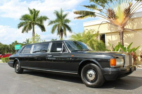 stunning 1982 Rolls Royce Silver Spur Limousine for sale
