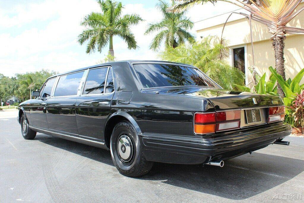 stunning 1982 Rolls Royce Silver Spur Limousine