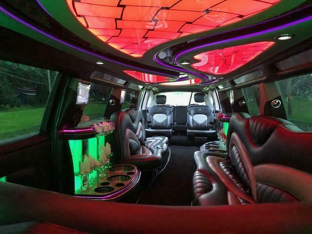custom 2011 Infiniti QX56 limousine