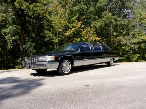 everything works 1993 Cadillac Fleetwood limousine for sale