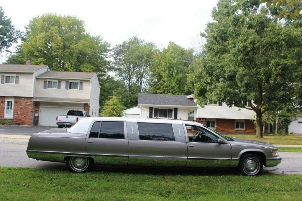 great shape 1996 Cadillac Fleetwood Limousine