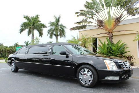 low miles 2008 Cadillac DTS limousine for sale