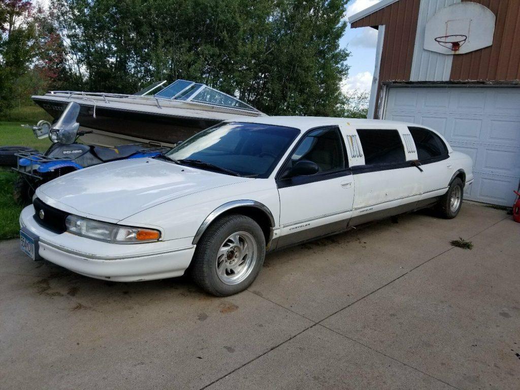 rare 1996 Chrysler LHS Limousine