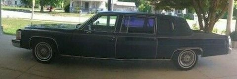 serviced 1983 Cadillac Fleetwood Limousine for sale