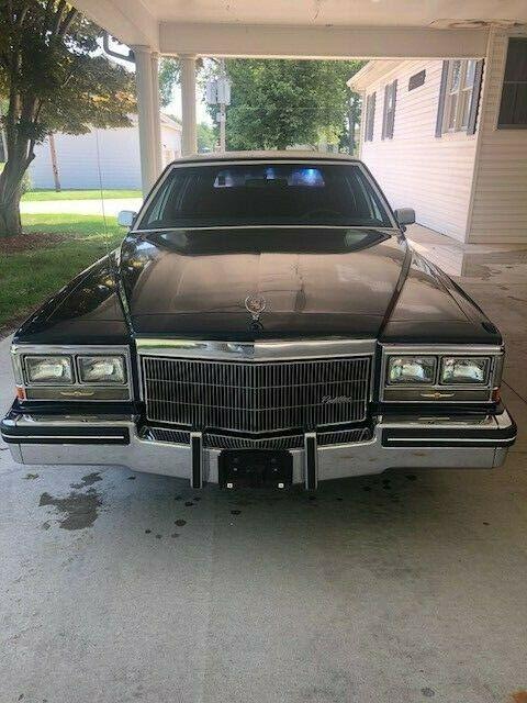 serviced 1983 Cadillac Fleetwood Limousine