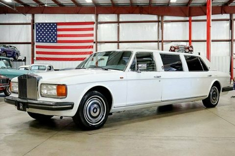 very nice 1982 Rolls Royce Silver Spur Limousine for sale