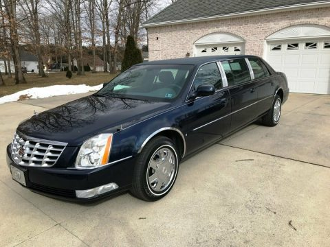 low miles 2007 Cadillac DTS Superior limousine for sale