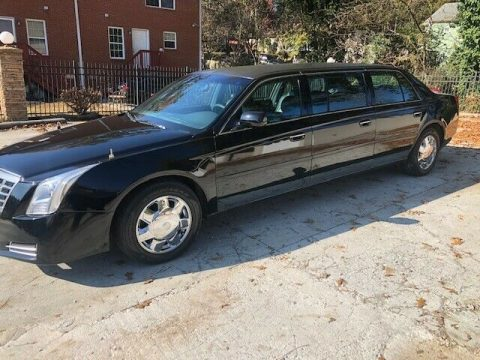 2013 conversion 2002 Cadillac Deville Black limousine for sale