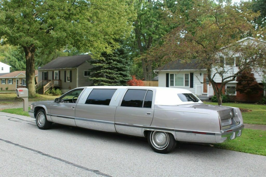 clean 1996 Cadillac Fleetwood Limousine