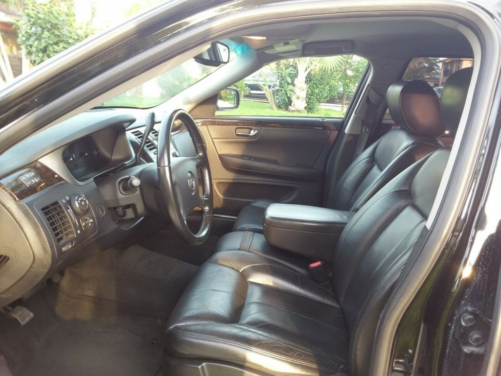 garaged 2011 Cadillac DTS limousine