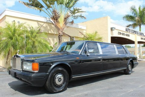 nice 1982 Rolls Royce Silver Spur Limousine for sale