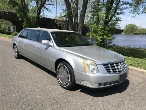 serviced 2007 Cadillac DTS limousine for sale