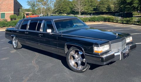 Super Clean 1990 Cadillac Brougham Limousine for sale