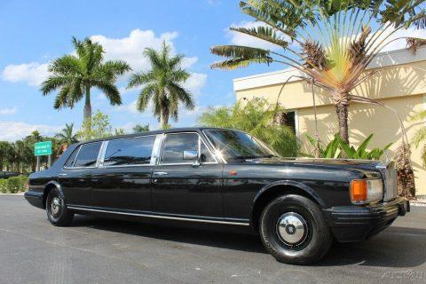 clean 1982 Rolls Royce Silver Spur Limousine for sale
