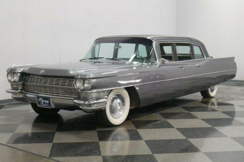 sharp 1965 Cadillac Fleetwood 75 Sedan limousine for sale