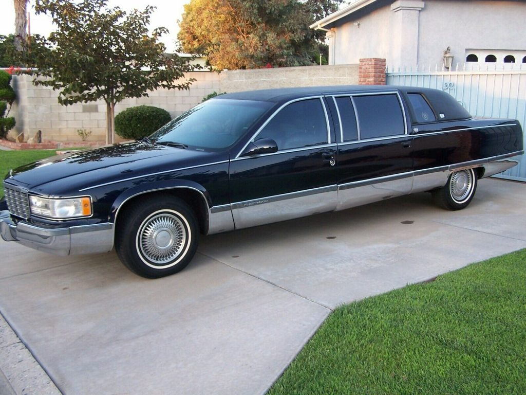garaged 1995 Cadillac Fleetwood Limousine