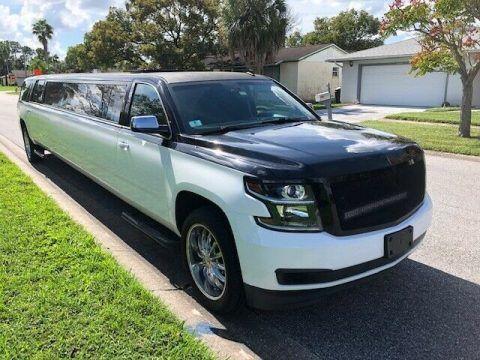 low miles 2015 Chevrolet Suburban Super Stretch Limousine for sale