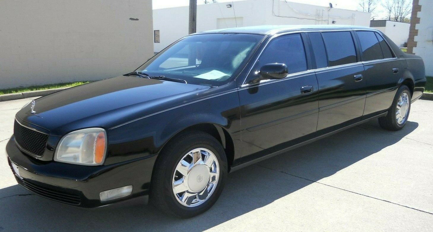 well running 2000 cadillac deville limousine for sale
