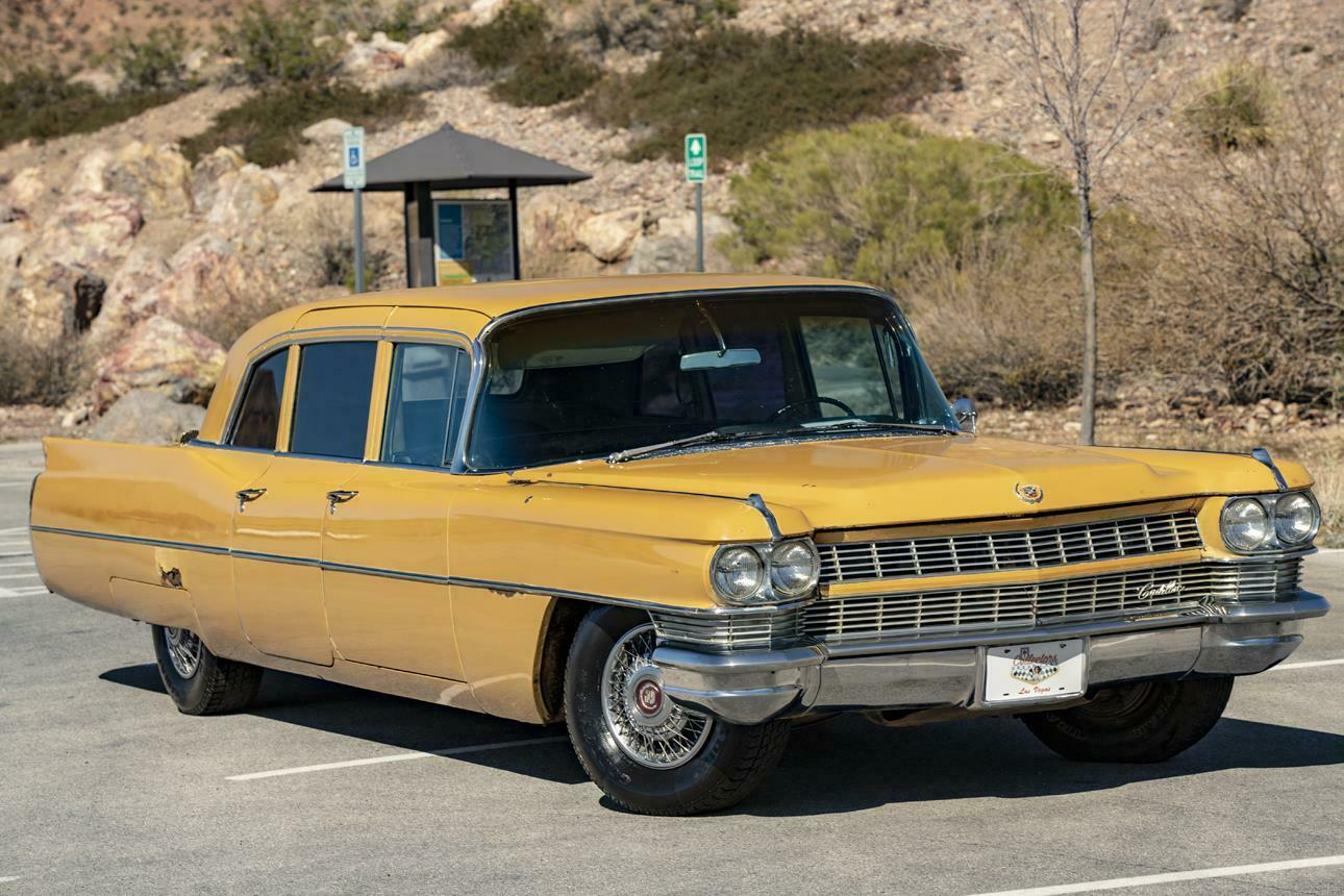 patina 1964 cadillac fleetwood series 75 limousine for sale